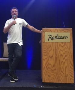 Keynote speaker Mike Aitken
